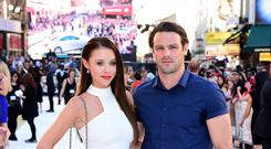 Ben Foden and Una Healy attending the Magic Mike XXL premiere in London (Ian West/PA)