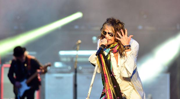 The ceremony to induct Aerosmith into the Hollywood Walk Of Fame has been postponed due to bad weather (Lewis Stickley/PA)