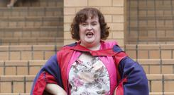 Susan Boyle burst onto the scene following her Britain's Got Talent audition in 2009 (Danny Lawson/PA)