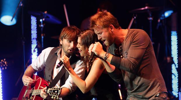 The country music trio played on the second night of C2C at the O2 Arena (PA)
