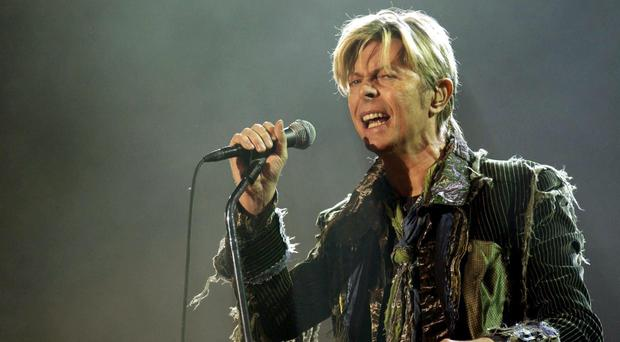 The David Bowie demo was stored in the loft for 50 years (Yui Mok/PA)