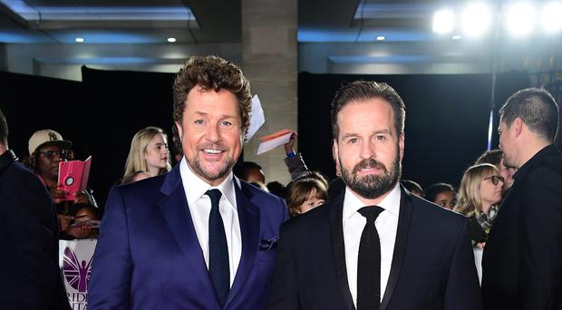 Michael Ball (left) and Alfie Boe will take to the stage on Saturday June 22 (Ian West/PA)