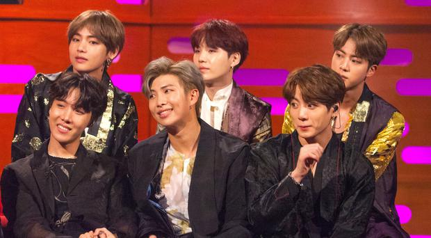K-pop sensations BTS have announced the date for their new album (Tom Haines/PA)