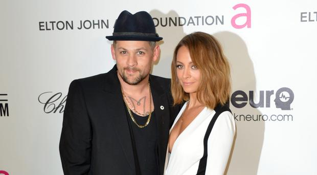 Joel Madden and Nicole Richie (Tony DiMaio/PA)