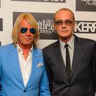 Rick Parfitt and Francis Rossi of Status Quo (Dominic Lipinski/PA)