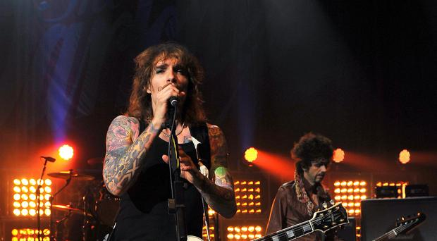 The Darkness gig – London