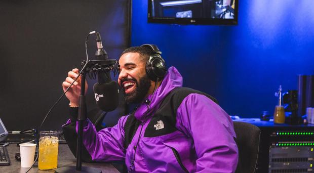 Drake (The 1Xtra Rap Show with Tiffany Calver/PA)