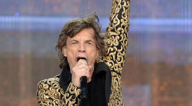 Mick Jagger shared an image with fans as he continued to recover from heart surgery (Anthony Devlin/PA)