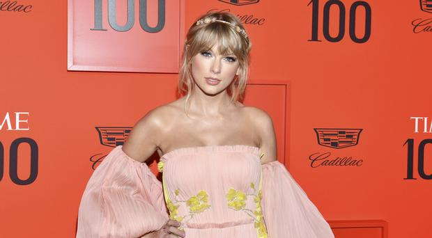 Taylor Swift attends the Time 100 Gala (Invision/AP)