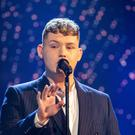 The UK's Eurovision pick Michael Rice (Guy Levy/BBC/PA)
