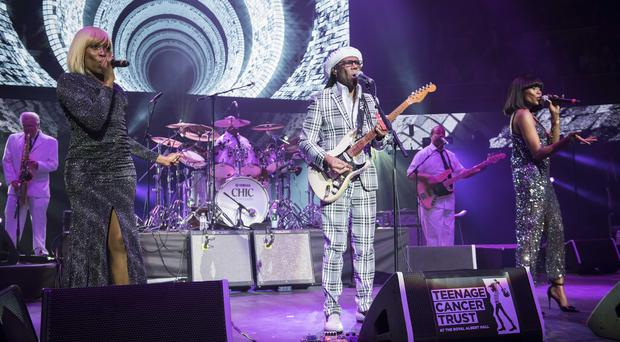 Nile Rodgers and Chic will perform at the Waterfront Hall (PA)