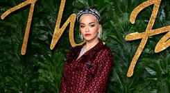 Rita Ora has said a relationship 'isn't my main priority' as she focuses on her music career (Ian West/PA)