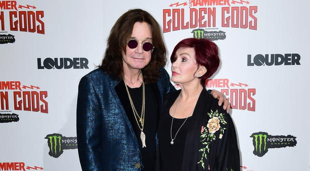 Sharon Osbourne said Ozzy had had 'a really tough year' (Ian West/PA)