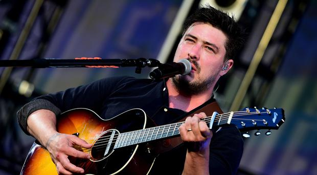 Mumford and Sons headlined at All Points East on Saturday night (Ian West/PA)