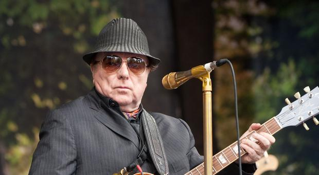 Sir Van Morrison will play at the Royal Albert Hall (Ken Haddock/PA)