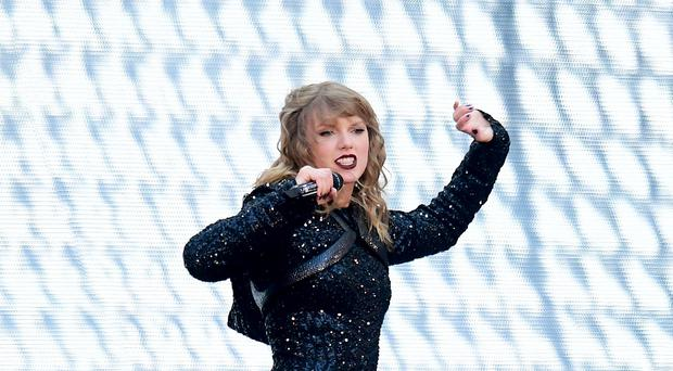 Taylor Swift set fans a challenge as she confirmed the title of her new album is contained in the music video of her latest single (Ian West/PA)