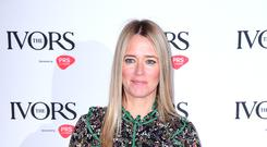 Edith Bowman apologised after sparking a rumour that Bradley Cooper and Lady Gaga would be at Glastonbury (Ian West/PA)
