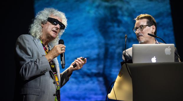 Brian May at the Starmus V Festival (Max Alexander)
