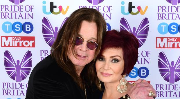 """Sharon Osbourne said Mr Trump was now """"forbidden"""" from using any more of Ozzy's music (Ian West/PA Wire)"""