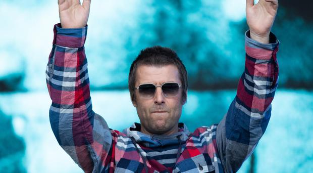 Liam Gallagher performed a combination of his solo work and Oasis classics during his highly anticipated Glastonbury set (Aaron Chown/PA)