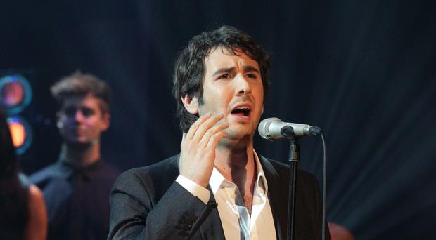 Josh Groban has praised his fellow singer. (Yui Mok/PA)