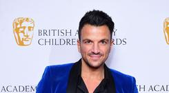 Peter Andre (Ian West/PA)