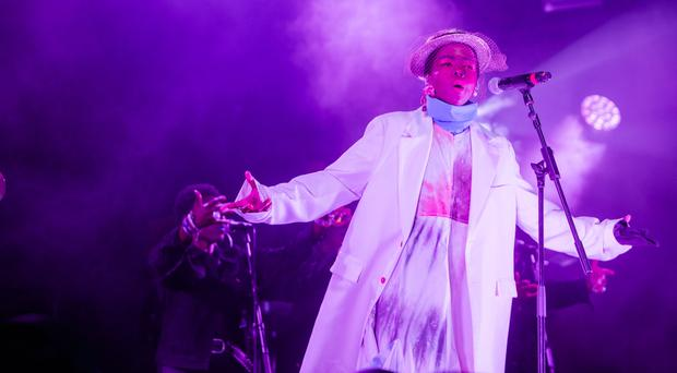 Lauryn Hill at the Love Supreme Jazz Festival (Giles Smith/Love Supreme)