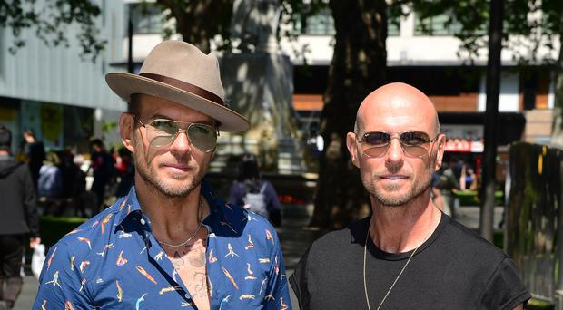 Matt and Luke Goss (Ian West/PA)