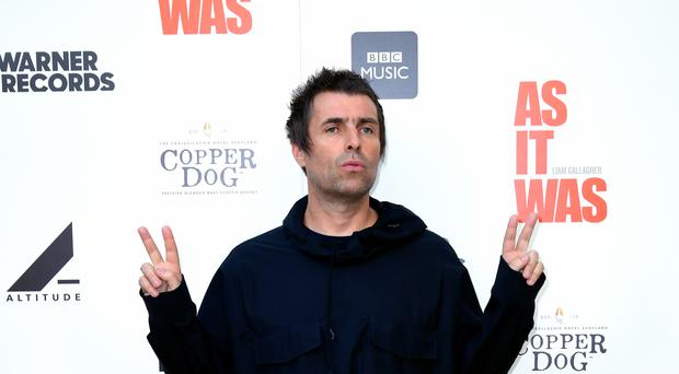 Liam Gallagher has declared his love for Scotland days after brother Noel slammed the country (Ian West/PA)