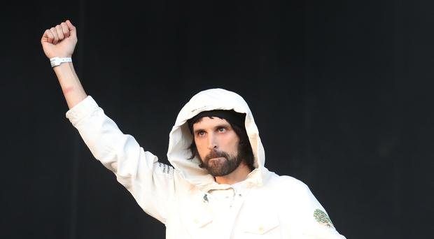 Serge Pizzorno of Kasabian (Andrew Milligan/PA)