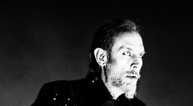 Former Bauhaus singer Peter Murphy has been taken to hospital after suffering a heart attack, his representative said (Gabriel Edvy/PA)