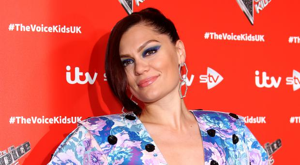 Jessie J mingles with Towie star James 'Arg' Argent at his Marbella gig (Isabel Infantes/PA)