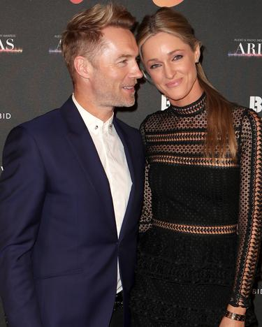 Ronan Keating and wife Storm share romantic messages on