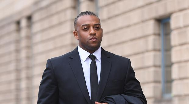 Oritse Williams is in a 'good mental space' after being cleared of rape, JB Gill says (Joe Giddens/PA)