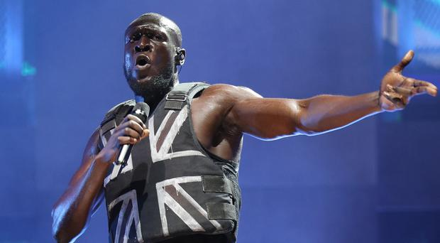 Stormzy was among the most popular artists (Yui Mok/PA)