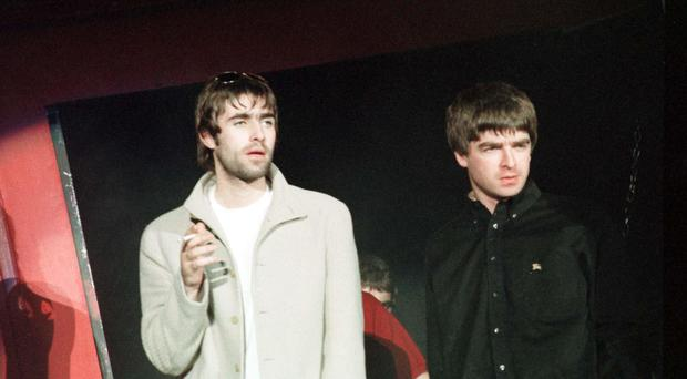 Bookmakers are offering odds of 6/4 on Oasis re-forming as Definitely Maybe turns 25 (Joanne Nelson/PA)