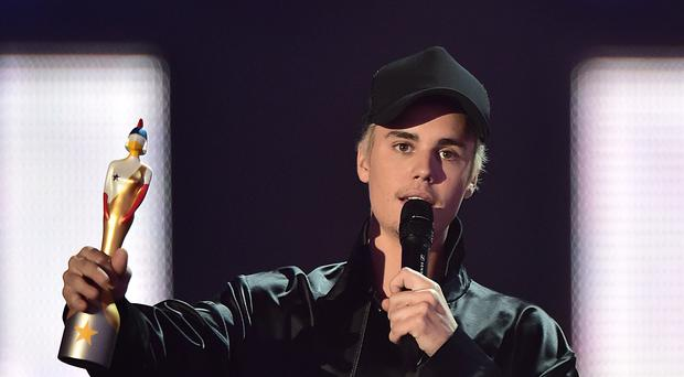 Justin Bieber rose to fame after being discovered on YouTube (Dominic Lipinski/PA)