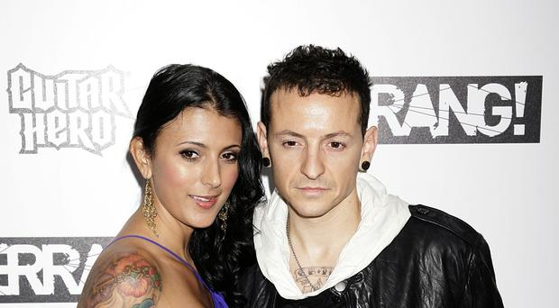 The widow of former Linkin Park singer Chester Bennington has announced she is engaged (Yui Mok/PA)
