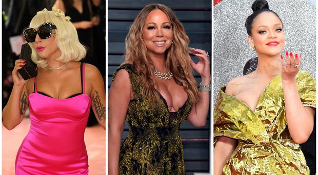 Pop divas like to collaborate on songs (PA)