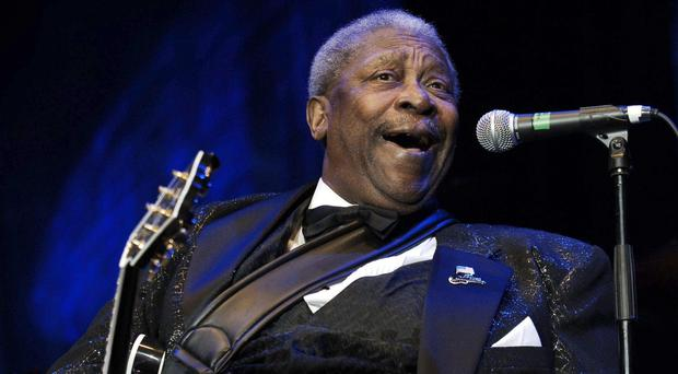 A selection of BB King's famous 'Lucille' guitars will go under the hammer (Yui Mok/PA)