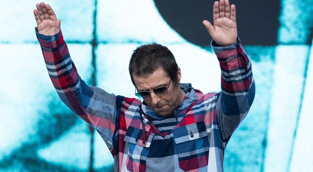 Liam Gallagher has called the success of his new album 'biblical' (Aaron Chown/PA)