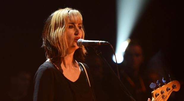 Kim Shattuck performs with Pixies on Later With Jools Holland in 2013 (Andre Csillag/Shutterstock/PA)