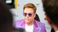 Sir Elton John: Nobody knew how close I came to dying (Matt Crossick/PA)