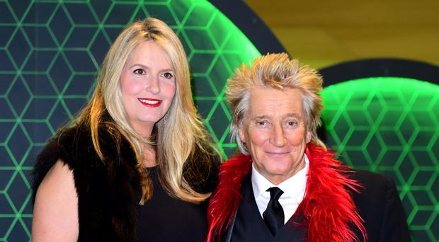 A tearful Penny Lancaster broke down in tears while discussing husband Sir Rod Stewart's prostate cancer diagnosis (Ian West/PA)