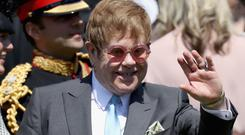 Sir Elton John has revealed the singer he thinks is the 'one true star' at the moment (Chris Jackson/PA)