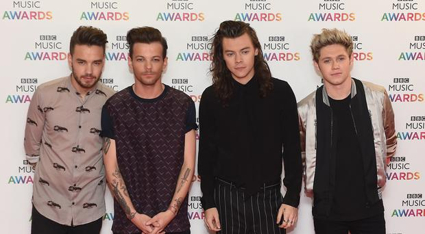 One Direction went on hiatus in 2016 (Joe Giddens/PA)