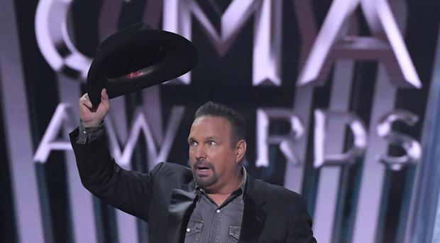 Garth Brooks has been named entertainer of the year at the Country Music Association Awards (AP Photo/Mark J. Terrill)