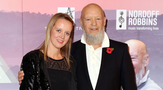 Emily and Michael Eavis (Chris Radburn/PA)
