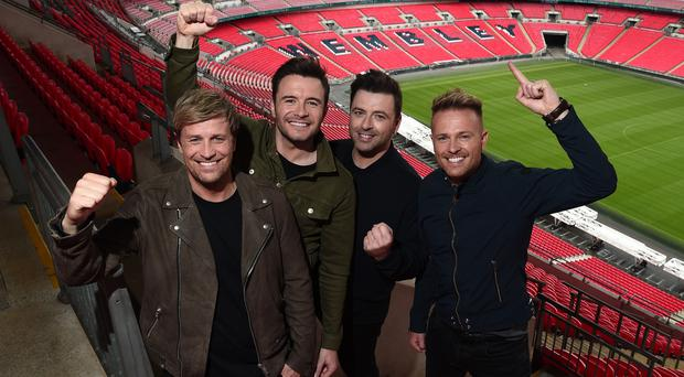 Westlife are looking for their eighth number one album (Eamonn McCormack/PA)