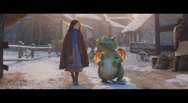 Excitable Edgar in the John Lewis Christmas advert (John Lewis and Partners/PA)